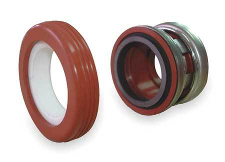 Shaft Seal, 7/8 In, Viton,  Carbon,  Ceramic