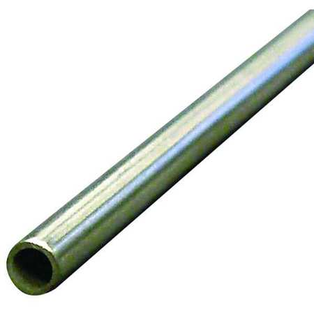Tubing, Seamless, 1/4 In, 6 Ft, Inconel 600