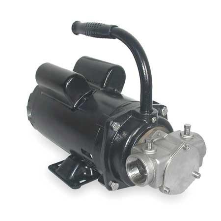 Pump,  SS,  1 HP,  115/230V,  14.4/7.2 Amps