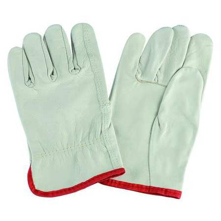 Leather Drivers Gloves, Cowhide, XL, PR