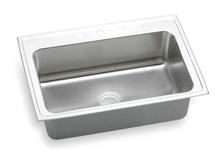 Drop-In Sink with Faucet Ledge,   33""