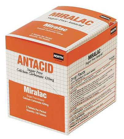 Antacid, Chewable Tablet, 420mg, PK250