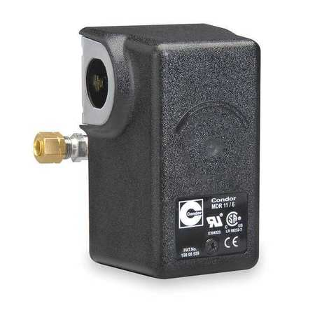 Pressure Switch, 20 to 105 psi, Diaphragm