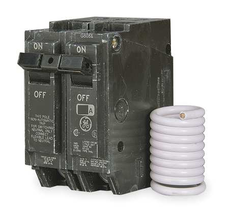 2P Switched Neutral Plug In Circuit Breaker 20A 120/240VAC
