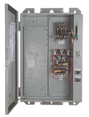Pump Panel, NEMA Sz 2, 25 HP, 60A, 480V
