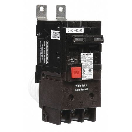 2P GFEP Bolt On Circuit Breaker 40A 120/240VAC