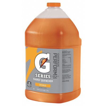Sports Drink Mix Liquid Concentrate,  Orange 1 gal.