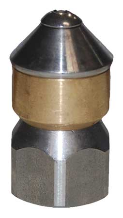 Rotating Sewer Nozzle, Size 5, 3600 psi