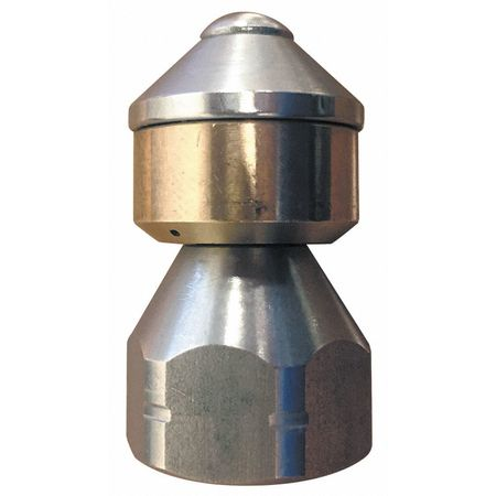 Rotating Sewer Nozzle, Size 8.5, 3600 psi
