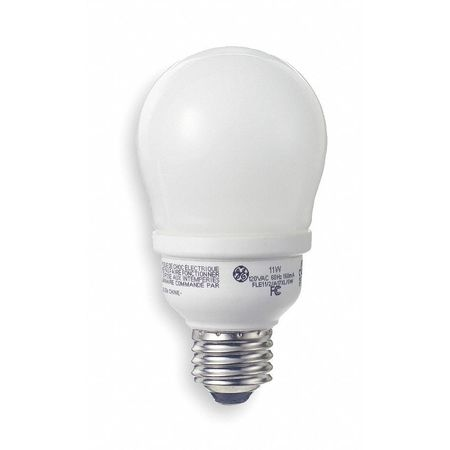 GE LIGHTING 11W,  A17 Screw-In Fluorescent Light Bulb