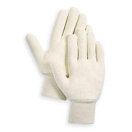 Jersey Gloves, Cotton,  S, White, PR