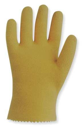 Coated Gloves, L, Yellow, PR