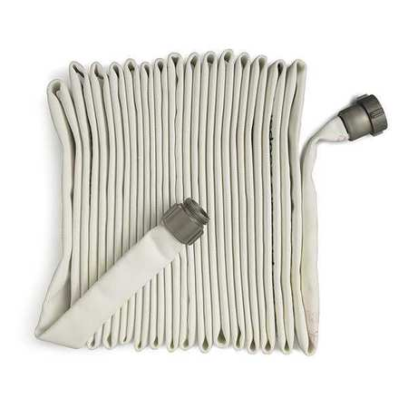 Fire Hose, Pin Rack Hose, 1-1/2 ID, 50 Ft L