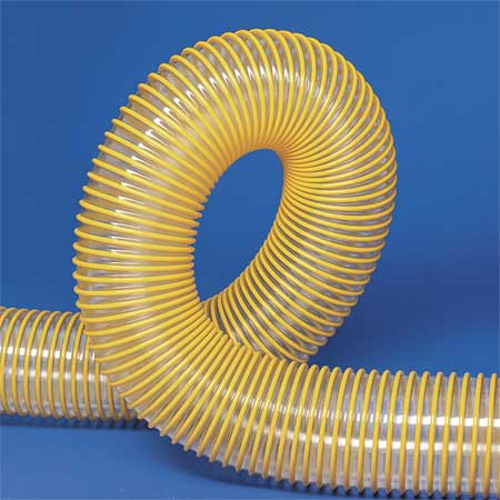 Ducting Hose, 4 In. ID, 50 ft. L, Urethane