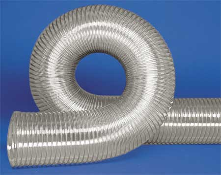 Ducting Hose, 6 In. ID, 25 ft. L, Urethane