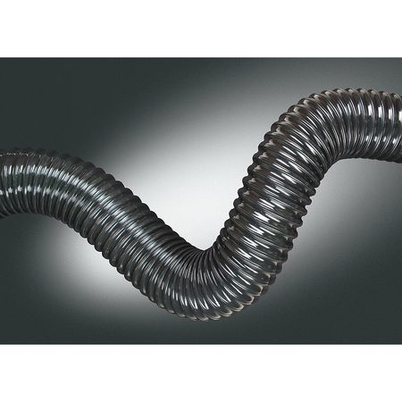 Ducting Hose, 2 In. ID, 25 ft. L, Urethane