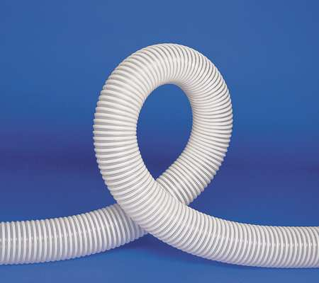 Ducting Hose, 2-1/2 In. ID, 25 ft. L, Poly