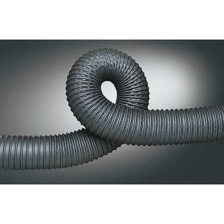 Ducting Hose, 1-1/2 In. ID, 25 ft. L, Poly
