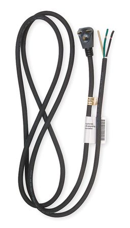 Power Cord, 6-15P, SJO, 8 ft., Blk, 15A, 14/3