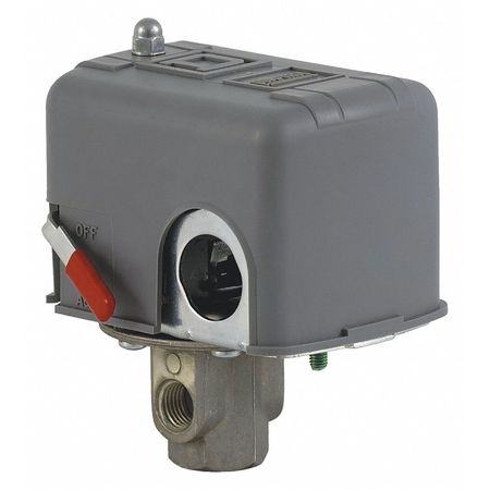 "Pressure Switch, 1/4"" FNPS, 40 to 150 psi"