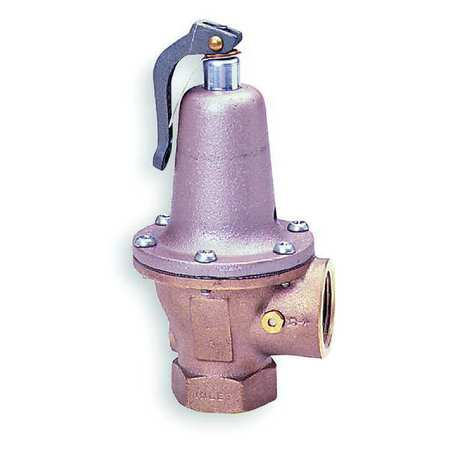 Safety Relief Valve, 3/4 x 1In, 30psi, Iron