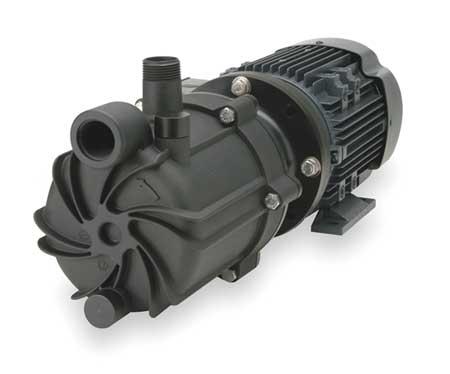 "1 HP PVDF Magnetic Drive Pump 208-230/460V 1"" FNPT"