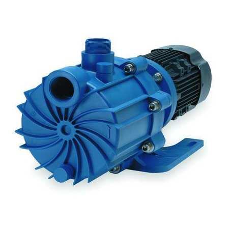 """3 HP PP Magnetic Drive Pump 208-230/460V 1-1/2"""" FNPT"""