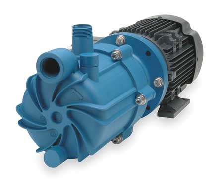 "1 HP PP Magnetic Drive Pump 115/208-230V 1"" FNPT"