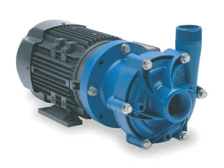 "1/2 HP PP Magnetic Drive Pump 115/208-230V 1-1/2"" FNPT"