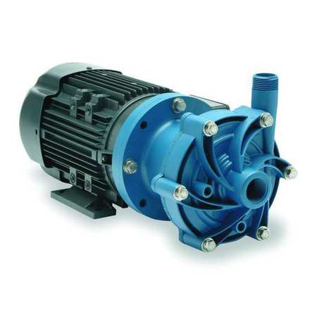 "1/3 HP PP Magnetic Drive Pump 208-230/460V 1"" FNPT"