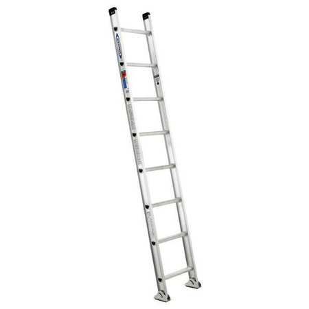 Ladder,  8 ft.  H,  18-1/8 In W,  Aluminum