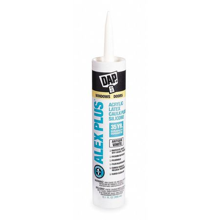 Caulk, 10.1 oz, Antique White