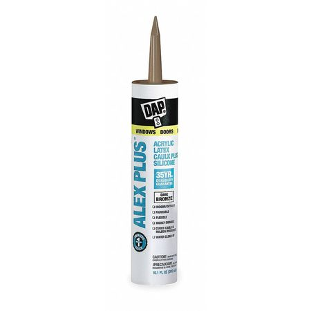 Caulk, 10.1 oz, Dark Bronze