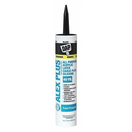 Caulk, 10.1 oz, Black