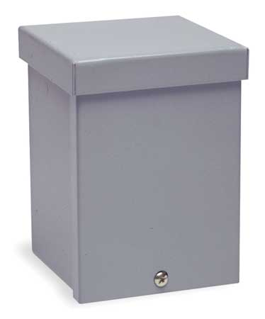 Enclosure, Metallc, 6In.H x 4In.W x 4In.D