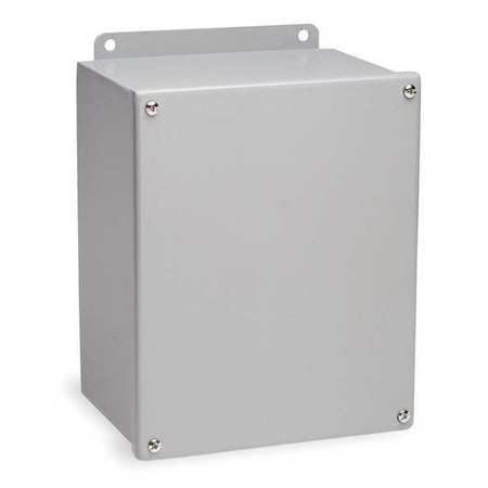 Junc Box Enclsr, Mtlic, 6In.Hx 4In.Wx4In.D