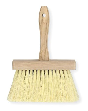 Masonry Brush, White