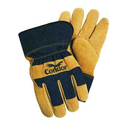 Cold Protection Gloves, L, Black/Gray, PR