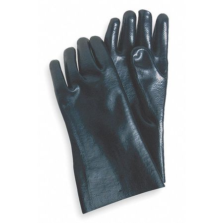 "Chemical Resistant Glove, PVC, 12"" L, PR"
