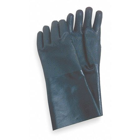 "Chemical Resistant Glove, PVC, 14"" L, PR"