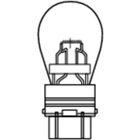 Miniature Lamp, 3157NA NH, 2.0W, S8, 12V, PK2