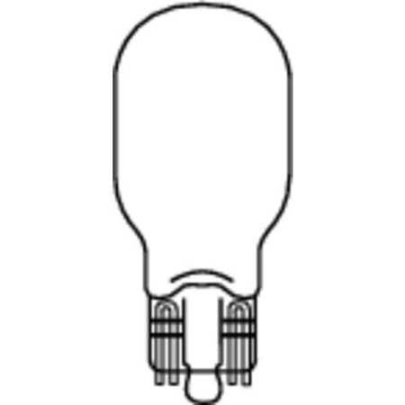 Miniature Lamp, 906, 9.0W, T5, 13V, PK2