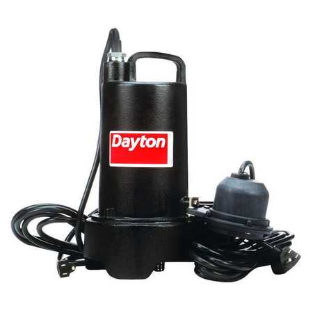 "1/3 HP 1-1/2"" Submersible Sump Pump 115V Diaphragm"