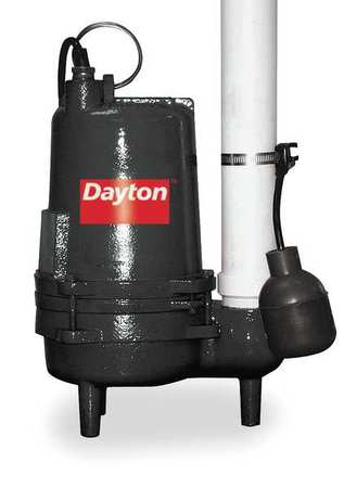"1/2 HP 2"" Auto Submersible Sewage Pump 115V Tether"