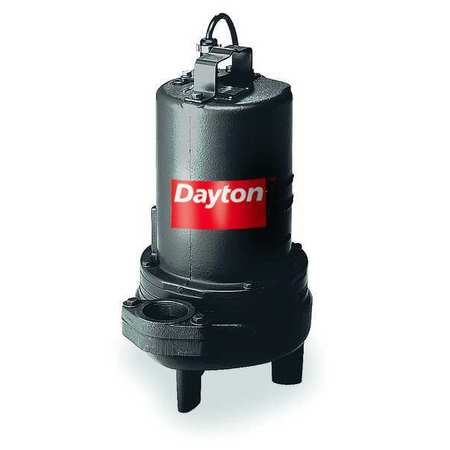 "1-1/2 HP 2"" Manual Submersible Sewage Pump 230V"