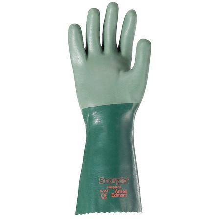 """Chemical Resistant Glove, 14"""" L, Sz 10, PR"""