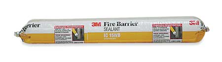 Fire Barrier Sealant, 20 oz., Yellow