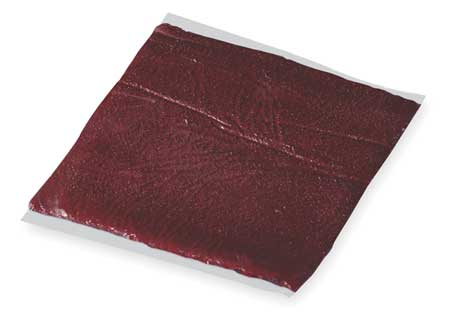 Fire Barrier Putty Pad, 9x9 In., Red
