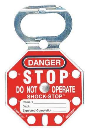 Lockout Hasp, Standard, 6 Lock, PK5