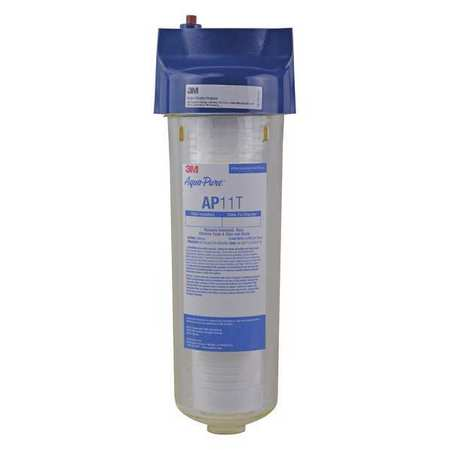 Water Filter System, 3/4 In NPT, 8 gpm